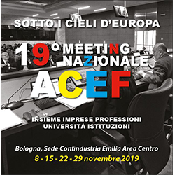"19° Meeting Nazionale ACEF ""Sotto i cieli d'Europa"""